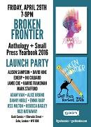 LE - Apr - Broken Frontier 2016 Anthology Launch