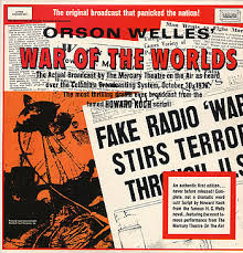 War of the Worlds Orson Wells