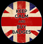 CBP - Keep Calm and Buy Badges logo