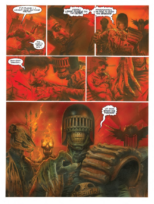 Preview - Judge Dredd Dark Justice cliffhanger
