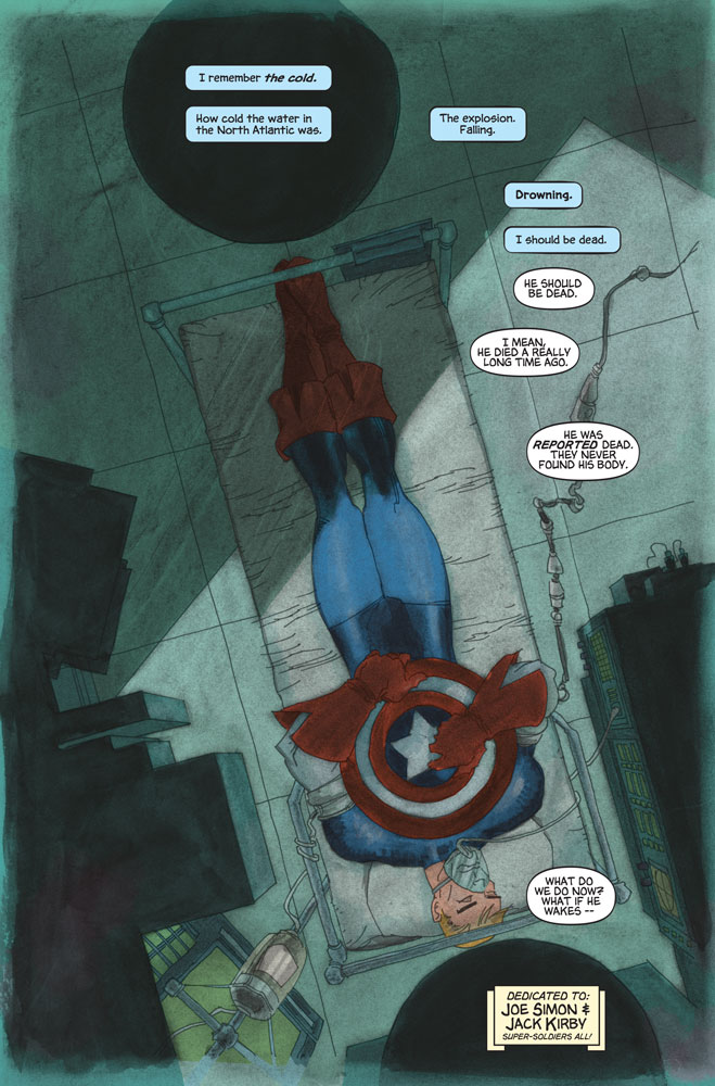Captain America White #1 Preview 1