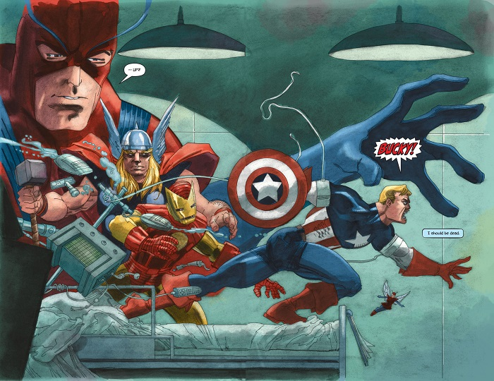 Captain America White #1 Preview 2