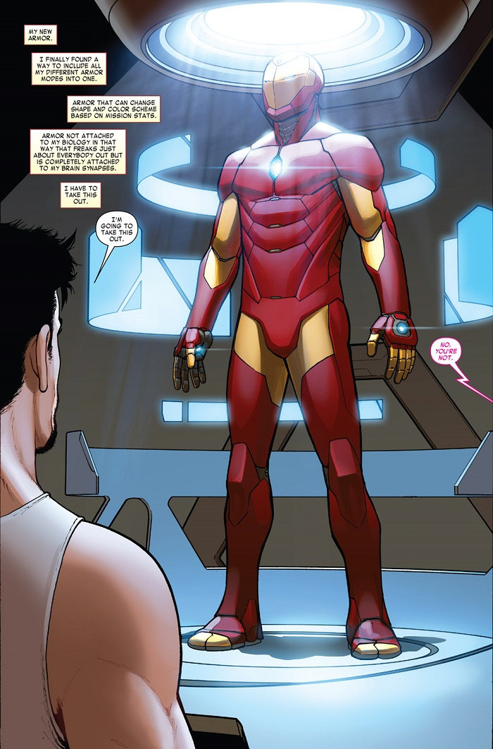Invincible Iron Man #1 Preview 2