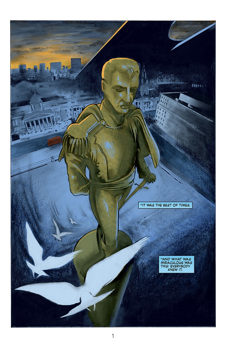Miracleman #1 Preview A
