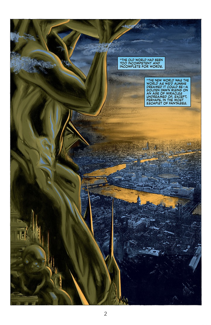 Miracleman #1 Preview B