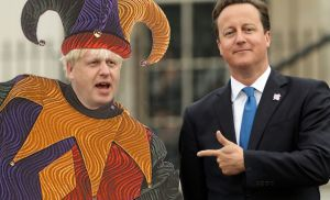 File photo dated 06/10/12 of Mayor of London Boris Johnson (left) with Prime Minister David Cameron during the lighting of the Paralympic Cauldron in Trafalgar Square, central London. PRESS ASSOCIATION Photo. Issue date: Wednesday December 19, 2012. See PA story XMAS Year. Photo credit should read: Yui Mok/PA Wire