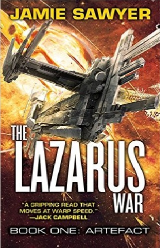 CB - Orbit - Feb - The Lazarus War Book One Artefact