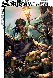 CA - LM - Swords of Sorrow Dejah Thoris & Irene Adler #3
