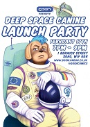 LE - Feb 17 - Deep Space Canine launch