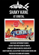 LE - Feb 17 - Sharks album launch with Shaky Kane at Orbital Comics
