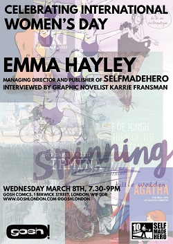 LE - Mar 17 - International Women's Day with Emma Hayley