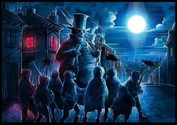 CP - Dan Kitchener - Chimney Sweeps - London Dark Series