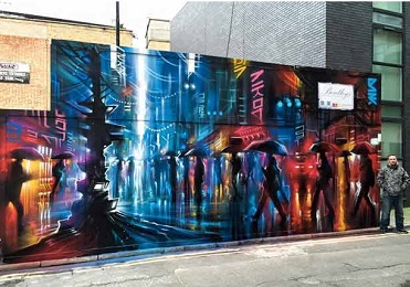 CP - Dan Kitchener - Jerome Street New Years Day 2016 - Org by Global Street Art
