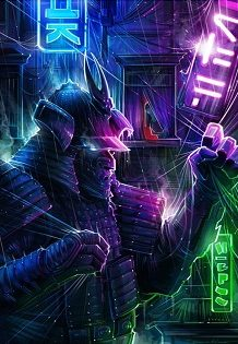 CP - Dan Kitchener - Neon Warriors