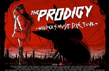 CP - Dan Kitchener - Prodigy Tour Poster 2009