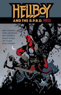 CG - DH - Aug - Hellboy and the BPRD 1953
