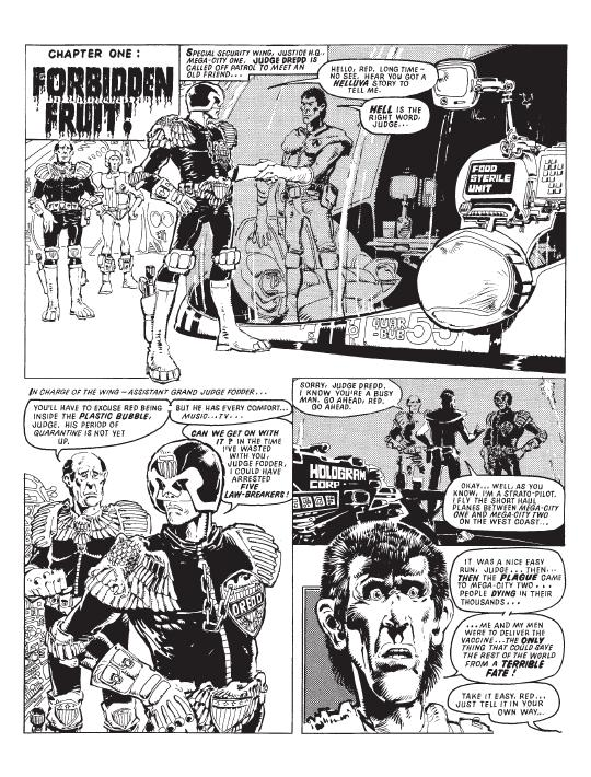 Judge Dredd The Cursed Earth P1